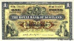 1 Pound ÉCOSSE  1960 P.324b NEUF