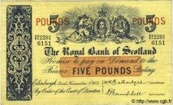 5 Pounds ÉCOSSE  1964 P.326a pr.SUP