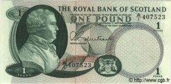 1 Pound ÉCOSSE  1967 P.327 NEUF