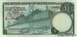 1 Pound ÉCOSSE  1969 P.329 NEUF