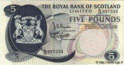 5 Pounds ÉCOSSE  1969 P.330 SUP