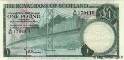 1 Pound ÉCOSSE  1970 P.334 pr.NEUF
