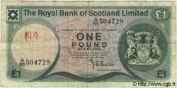 1 Pound ÉCOSSE  1975 P.336 TB
