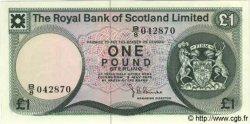 1 Pound ÉCOSSE  1976 P.336 pr.NEUF