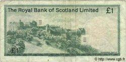 1 Pound ÉCOSSE  1977 P.336 TB