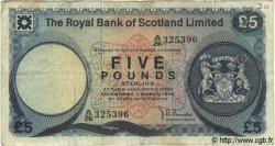 5 Pounds ÉCOSSE  1974 P.337 TB