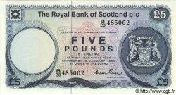 5 Pounds ÉCOSSE  1983 P.342a NEUF