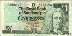 1 Pound ÉCOSSE  1993 P.351c TB à TTB