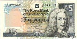 5 Pounds ÉCOSSE  1990 P.352a NEUF