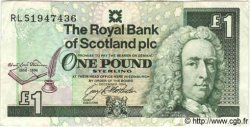 1 Pound ÉCOSSE  1994 P.358 TB à TTB