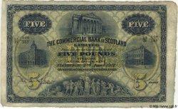 5 Pounds ÉCOSSE  1912 PS.324 TB+