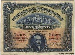 1 Pound ÉCOSSE  1912 PS.327 pr.TTB