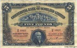 5 Pounds ÉCOSSE  1937 PS.328b pr.TTB