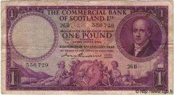1 Pound ÉCOSSE  1947 PS.332 TB