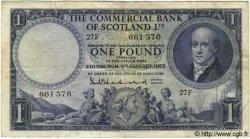 1 Pound ÉCOSSE  1955 PS.336 TB+