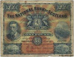 1 Pound ÉCOSSE  1917 PS.564 B+