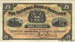 1 Pound ÉCOSSE  1934 PS.570a TTB+
