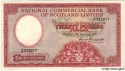 20 Pounds ÉCOSSE  1959 PS.593 SUP
