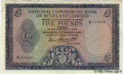 5 Pounds ÉCOSSE  1963 PS.597 (?) TTB+