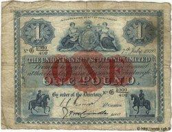 1 Pound ÉCOSSE  1920 PS.805 pr.TB