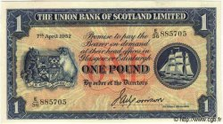 1 Pound ÉCOSSE  1952 PS.816a NEUF