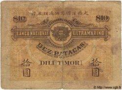 10 Patacas TIMOR  1910 P.03 pr.B