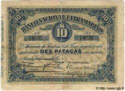 10 Patacas TIMOR  1910 P.03 TB