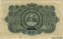 5 Patacas TIMOR  1924 P.06 TB+ à TTB