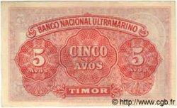 5 Avos TIMOR  1940 P.12 pr.NEUF