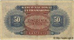 50 Avos TIMOR  1940 P.14 TTB