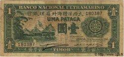 1 Pataca TIMOR  1945 P.16 TB