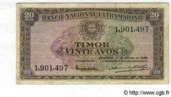 20 Avos TIMOR  1948 P.21 TB+