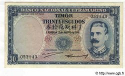 30 Escudos TIMOR  1959 P.22a SUP+