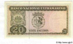 20 Escudos TIMOR  1967 P.26 NEUF