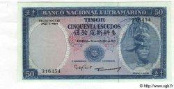 50 Escudos TIMOR  1967 P.27 NEUF