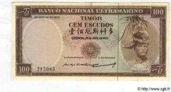 100 Escudos TIMOR  1963 P.28a SUP+