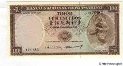 100 Escudos TIMOR  1963 P.28a pr.NEUF