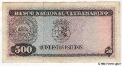500 Escudos TIMOR  1963 P.29 TB