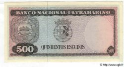 500 Escudos TIMOR  1963 P.29 pr.NEUF
