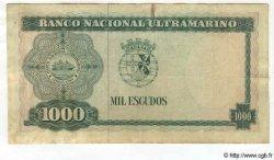 1000 Escudos TIMOR  1968 P.30 TB