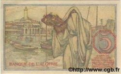 5 Francs ALGÉRIE  1944 P.094a NEUF
