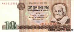 10 Mark ALLEMAGNE  1971 P.028 NEUF