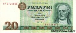 20 Mark ALLEMAGNE  1975 P.029a NEUF
