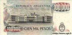 100000 Pesos ARGENTINE  1983 P.308b NEUF