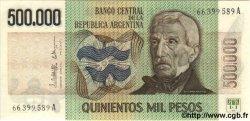500 000 Pesos ARGENTINE  1980 P.309 NEUF