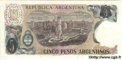 5 Pesos ARGENTINE  1983 P.312 NEUF