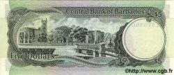 5 Dollars BARBADE  1975 P.36a NEUF