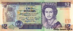 2 Dollars BELIZE  1990 P.52a NEUF