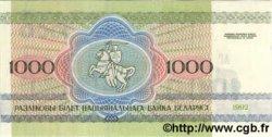 1000 Rublei BIÉLORUSSIE  1992 P.11 NEUF