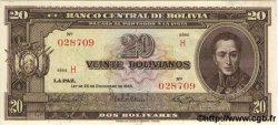 20 Bolivianos BOLIVIE  1945 P.140 NEUF